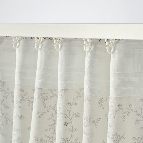 BRANDNÄVA 窗簾,一對