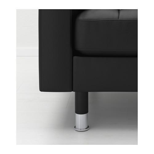 LANDSKRONA - armchair, Grann/Bomstad black/metal   IKEA Hong Kong and Macau - PE517147_S4