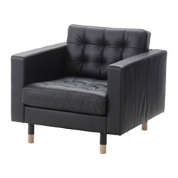 LANDSKRONA - armchair, Grann/Bomstad black/wood | IKEA Hong Kong and Macau - PE514839_S3