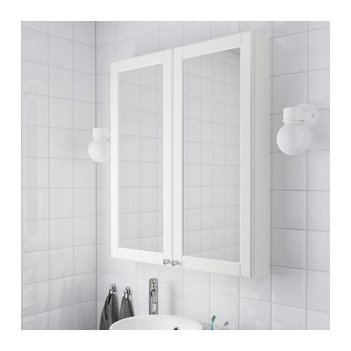 GODMORGON - mirror cabinet with 2 doors, Kasjön white | IKEA Hong Kong and Macau - PE689755_S4
