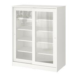 SYVDE - 玻璃門貯物櫃, 白色 | IKEA 香港及澳門 - PE740012_S3