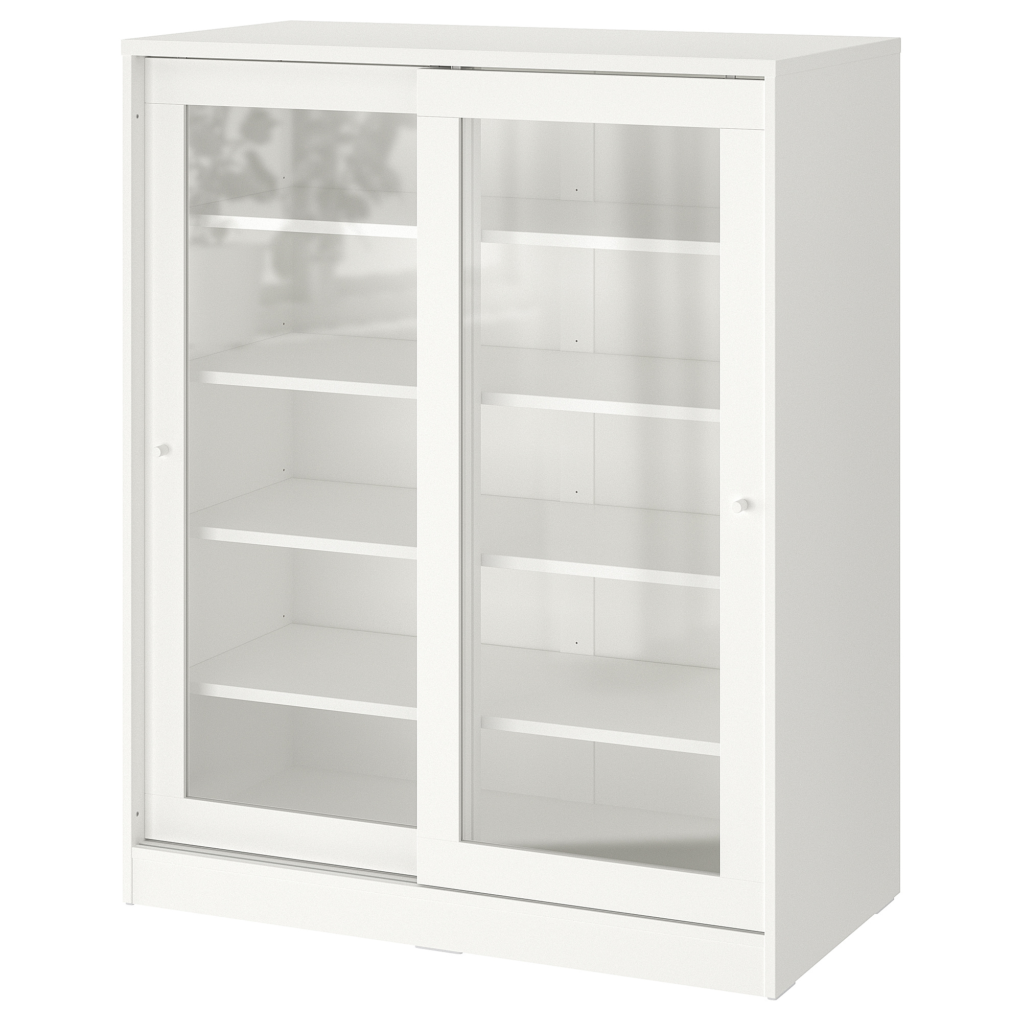 Syvde Cabinet With Glass Doors White Ikea Hong Kong