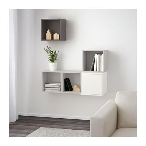 EKET - 上牆式貯物組合, 白色/淺灰色/深灰色 | IKEA 香港及澳門 - PE642488_S4