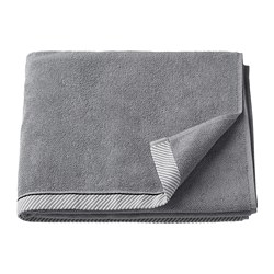 VIKFJÄRD - bath towel, grey | IKEA Hong Kong and Macau - PE732972_S3