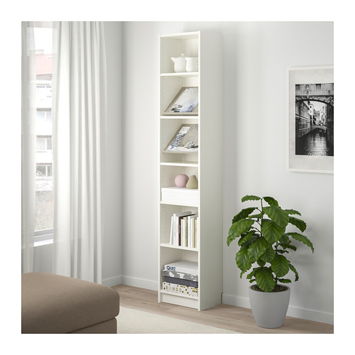 BILLY/BOTTNA 書櫃連展示式層板