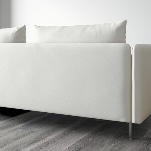 SÖDERHAMN - 4-seat sofa with chaise longue, Finnsta white   IKEA Hong Kong and Macau - PE596611_S4