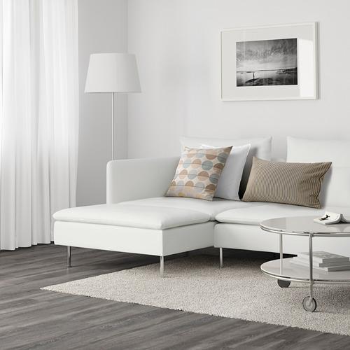 SÖDERHAMN - 4-seat sofa with chaise longue, Finnsta white   IKEA Hong Kong and Macau - PE599206_S4