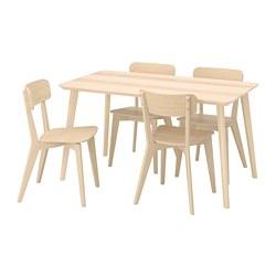 LISABO/LISABO - 一檯四椅, 梣木飾面/梣木 | IKEA 香港及澳門 - PE787668_S3