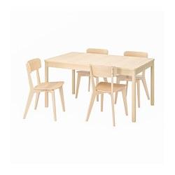 LISABO/RÖNNINGE - 一檯四椅, birch/ash | IKEA 香港及澳門 - PE787678_S3