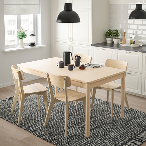 LISABO/RÖNNINGE - table and 4 chairs, birch/ash | IKEA Hong Kong and Macau - PE787681_S4