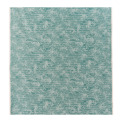 ÄNGSMOTT - fabric, grey-turquoise/white | IKEA Hong Kong and Macau - PE787702_S4