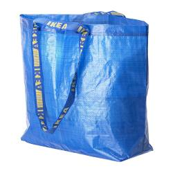 FRAKTA - 購物袋,中, 藍色 | IKEA 香港及澳門 - PE233745_S3