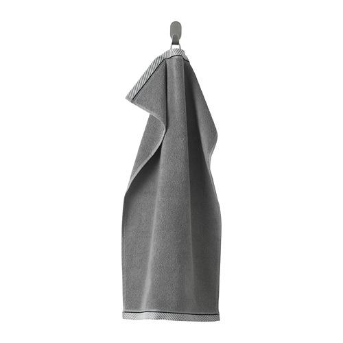 VIKFJÄRD - hand towel, grey | IKEA Hong Kong and Macau - PE733131_S4