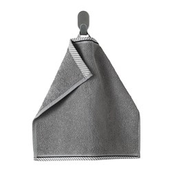 VIKFJÄRD - washcloth, grey | IKEA Hong Kong and Macau - PE733132_S3