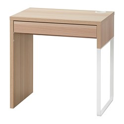 MICKE - 書檯, 73x50x75 cm, 染白橡木紋 | IKEA 香港及澳門 - PE787728_S3