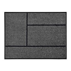 KÖGE - door mat, grey/black | IKEA Hong Kong and Macau - PE733152_S3