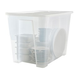 SAMLA - 65 litres box with lid | IKEA Hong Kong and Macau - PE689935_S3
