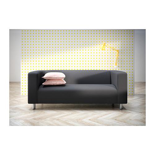 KLIPPAN - 2-seat sofa, Kabusa dark grey | IKEA Hong Kong and Macau - PH149210_S4