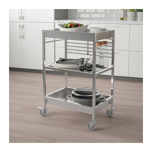 KUNGSFORS - kitchen trolley, stainless steel | IKEA Hong Kong and Macau - PE690004_S4