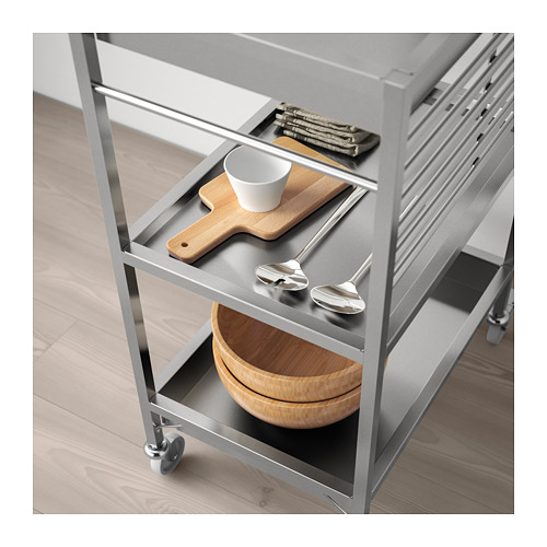 KUNGSFORS - kitchen trolley, stainless steel | IKEA Hong Kong and Macau - PE690003_S4