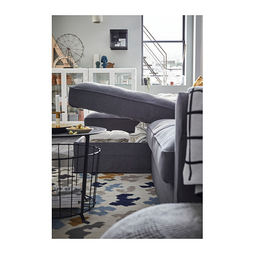 GRÖNLID - 4-seat sofa, with chaise longues/Ljungen medium grey | IKEA Hong Kong and Macau - PH153766_S4