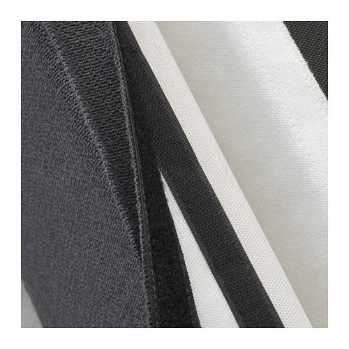 SAKARIAS - 扶手椅, 黑色/Sporda 深灰色 | IKEA 香港及澳門 - PE690027_S4