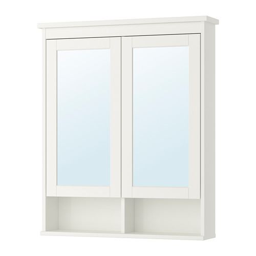 HEMNES - 雙門鏡櫃, 白色   IKEA 香港及澳門 - PE733330_S4