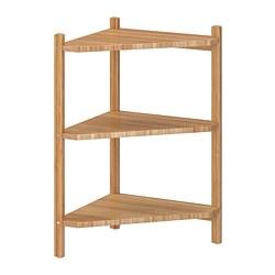 RÅGRUND - wash-basin/corner shelf, bamboo | IKEA Hong Kong and Macau - PE733334_S3