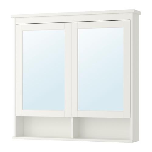 HEMNES - 雙門鏡櫃, 白色 | IKEA 香港及澳門 - PE733352_S4