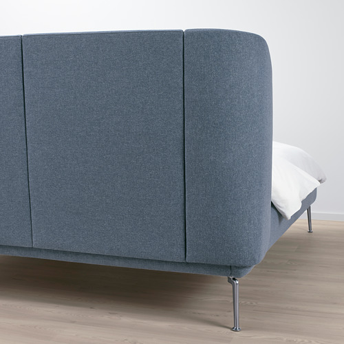 TUFJORD 特大雙人軟墊式床架