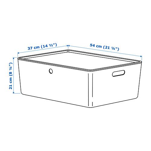 KUGGIS - 連蓋箱, 白色 | IKEA 香港及澳門 - PE690915_S4