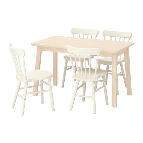 NORRARYD/NORRÅKER 一檯四椅