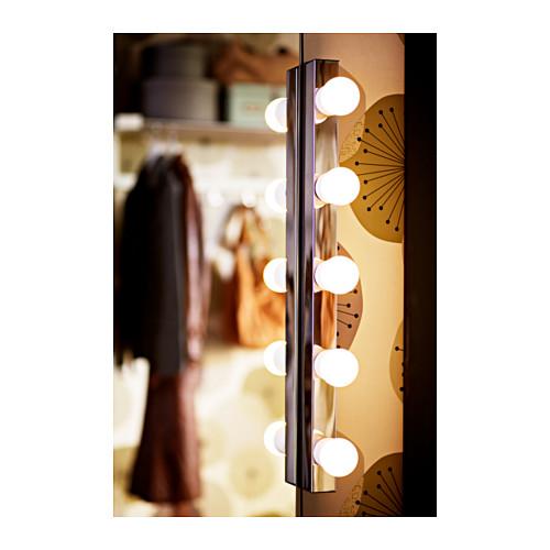 MUSIK - 壁燈,入牆式安裝, 鍍鉻 | IKEA 香港及澳門 - PE370092_S4