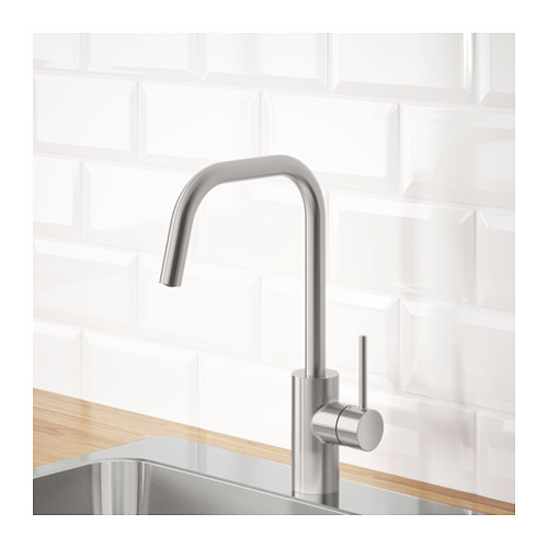 ÄLMAREN - 冷熱水龍頭, 不銹鋼色 | IKEA 香港及澳門 - PE642988_S4