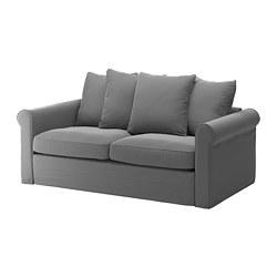 GRÖNLID - 2-seat sofa-bed, Ljungen medium grey | IKEA Hong Kong and Macau - PE690102_S3
