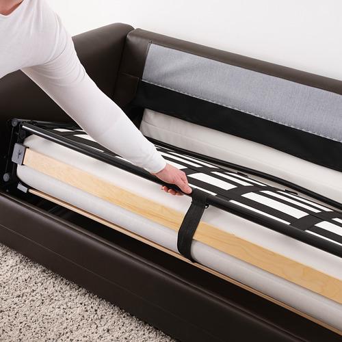 GRÖNLID - 兩座位梳化床, Kimstad 深褐色 | IKEA 香港及澳門 - PE690088_S4