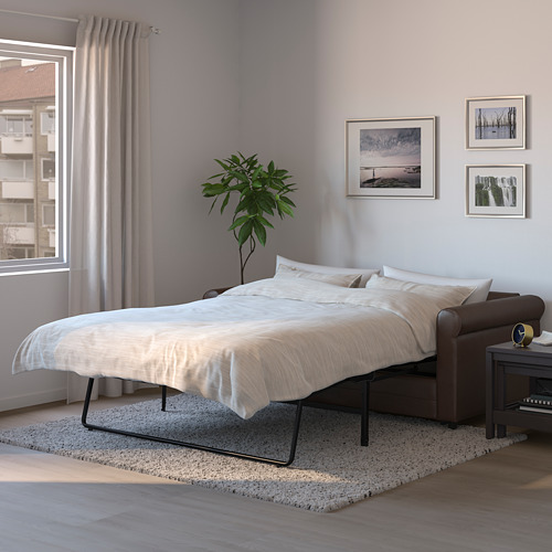 GRÖNLID - 兩座位梳化床, Kimstad 深褐色 | IKEA 香港及澳門 - PE690089_S4