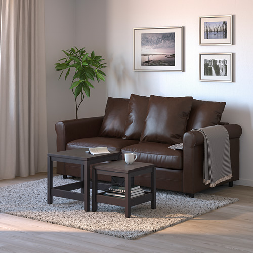 GRÖNLID - 兩座位梳化床, Kimstad 深褐色 | IKEA 香港及澳門 - PE690108_S4