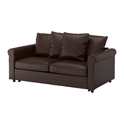 GRÖNLID - 2-seat sofa-bed, Kimstad dark brown | IKEA Hong Kong and Macau - PE690107_S3