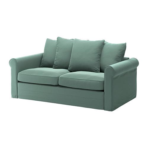 GRÖNLID - 兩座位梳化床布套, Ljungen 淺綠色 | IKEA 香港及澳門 - PE690116_S4