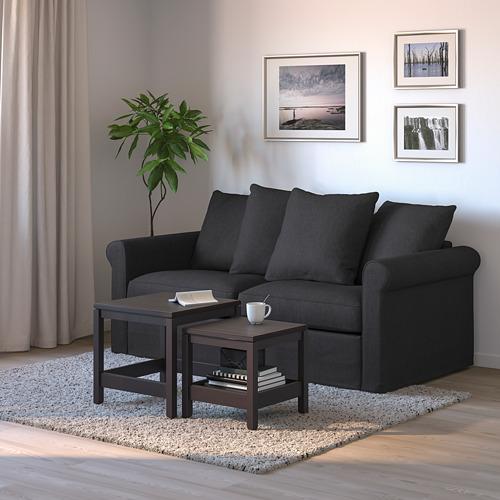 GRÖNLID - 2-seat sofa-bed, Sporda dark grey | IKEA Hong Kong and Macau - PE690096_S4