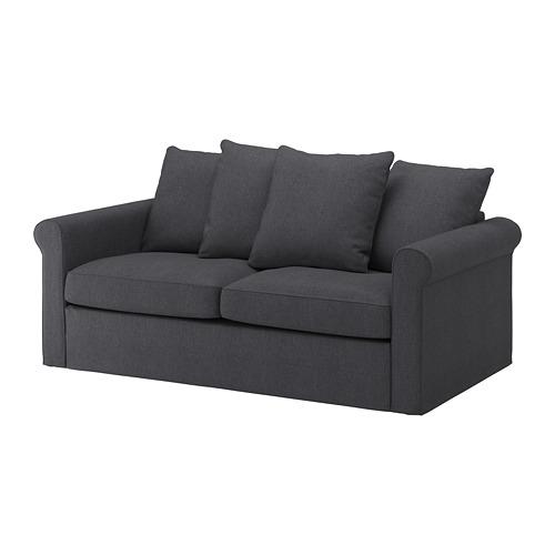 GRÖNLID - cover for 2-seat sofa-bed, Sporda dark grey | IKEA Hong Kong and Macau - PE690097_S4