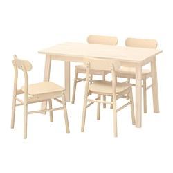 RÖNNINGE/NORRÅKER - 一檯四椅, 樺木/樺木 | IKEA 香港及澳門 - PE733390_S3