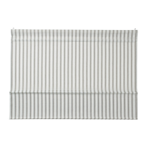 RINGBLOMMA - Roman blind, 120x160, white/green/striped | IKEA Hong Kong and Macau - PE787969_S4
