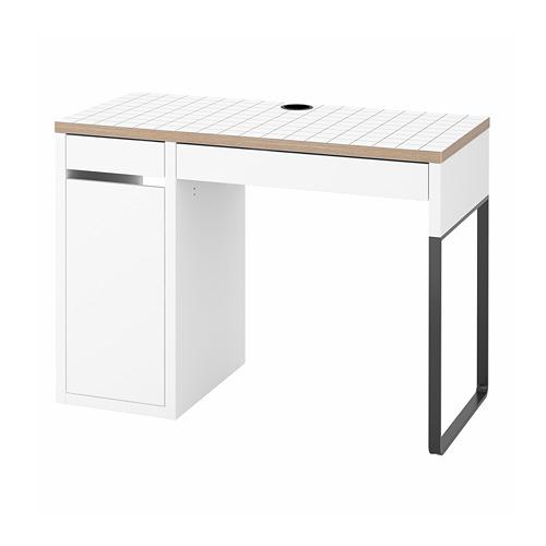 MICKE - desk, 105x50x75 cm, white/anthracite | IKEA Hong Kong and Macau - PE787989_S4