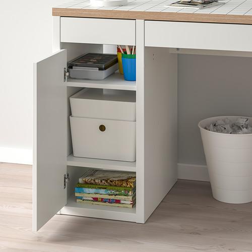 MICKE - desk, 105x50x75 cm, white/anthracite | IKEA Hong Kong and Macau - PE787988_S4