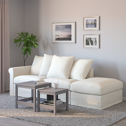 GRÖNLID - 3-seat sofa-bed, with open end/Inseros white | IKEA Hong Kong and Macau - PE690159_S4