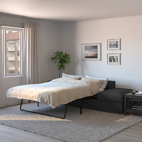 GRÖNLID - 3-seat sofa-bed, with open end/Sporda dark grey   IKEA Hong Kong and Macau - PE690168_S4
