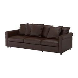 GRÖNLID - 三座位梳化床, Kimstad 深褐色 | IKEA 香港及澳門 - PE690209_S3