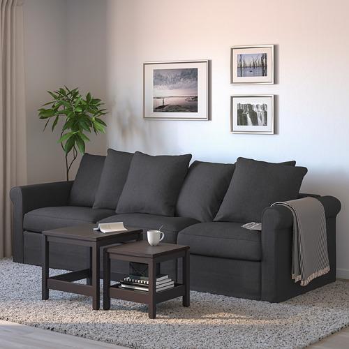 GRÖNLID - 3-seat sofa-bed, Sporda dark grey | IKEA Hong Kong and Macau - PE690233_S4